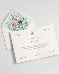 """Cartão Díptico """"Eucalyptus..."""