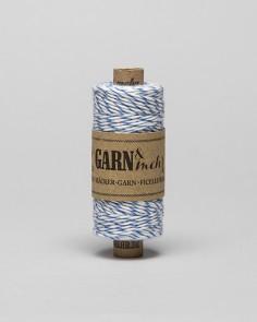 "Cord Baker Twine ""Blue-Branco"""