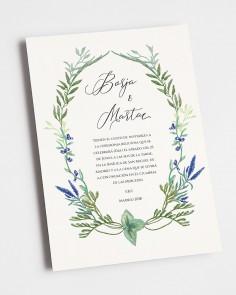 Convite de casamento...