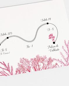"""Mapa """"Recife de coral"""""""