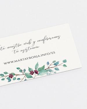 """WEB CARD """"EUCALIPTO E ROSAS"""""""