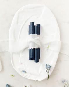 barras de lacre azul marino