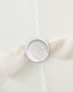 Varetas de vedação branco pérola (pacote de 5)