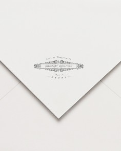 """Carimbo de borracha """"postal..."""